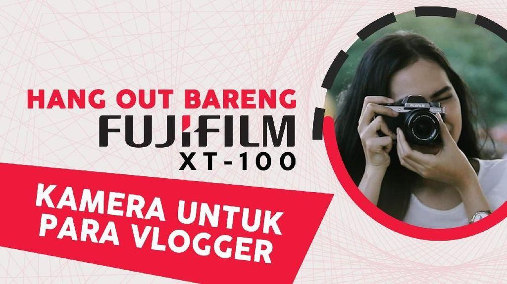 Ngevlog Bareng Fujifilm X-T100