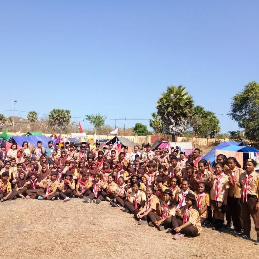 KLHK Ajak Pramuka Cegah Karhutla di TN Komodo