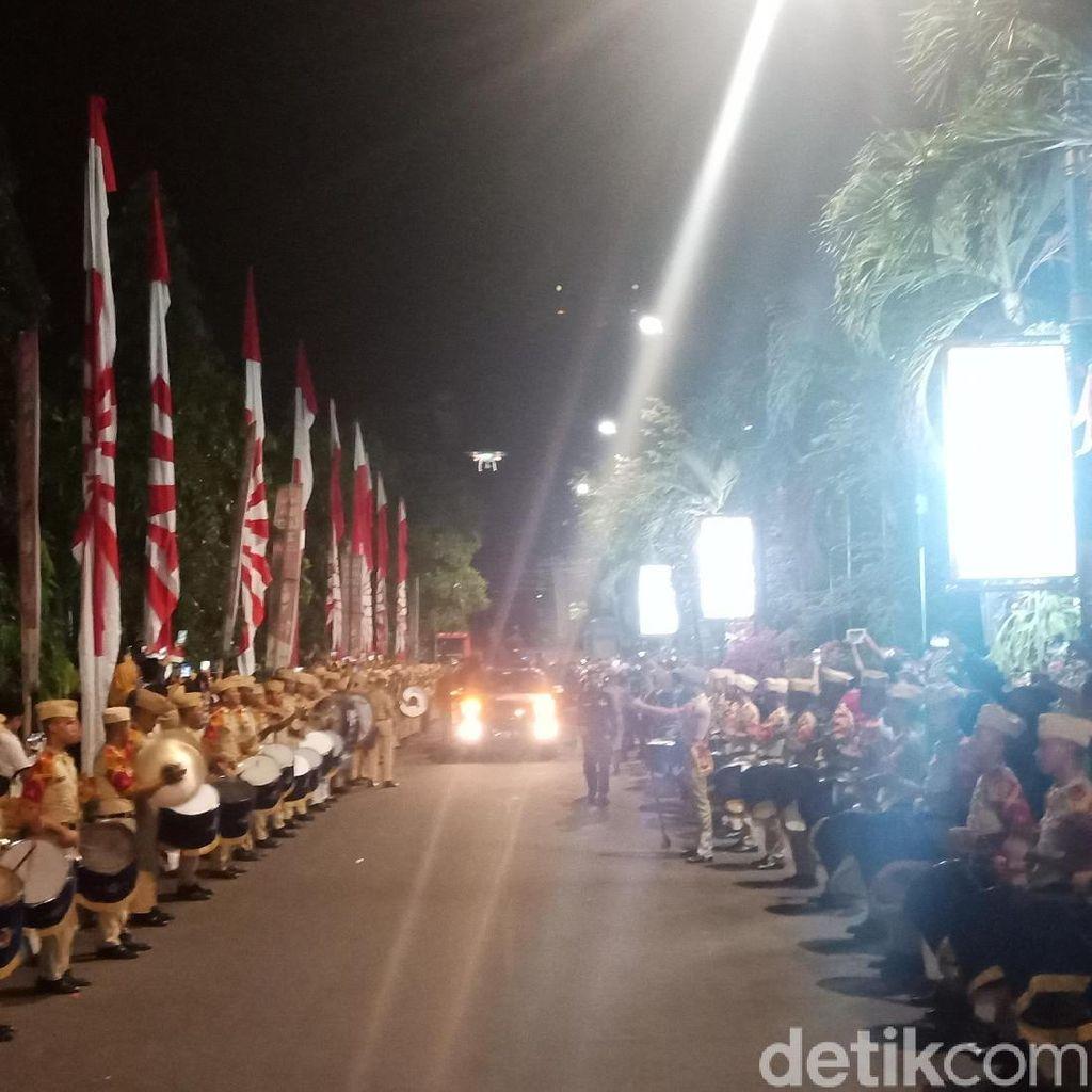 Yasonna hingga Wali Kota Sambut Obor Asian Games di Jakarta Utara