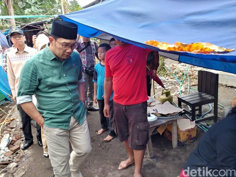 Ridwan Kamil Siapkan Tim Bangun Rumah Tahan Gempa di Lombok