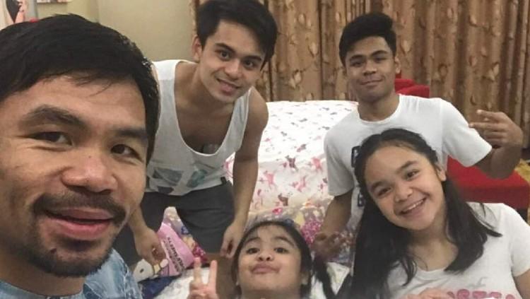 Manny Pacquiao, Mantan Petinju yang Family Man Banget