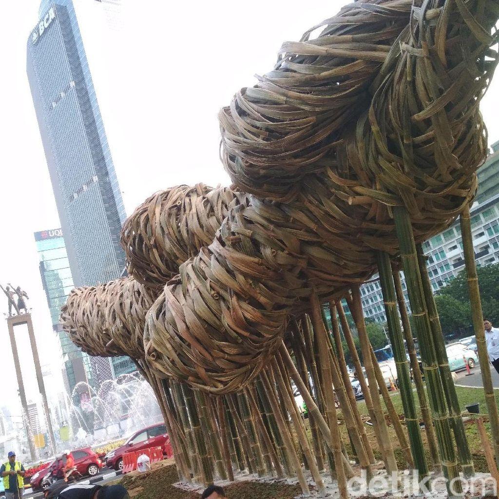 Seni Bambu Proyek Anies Dianggap Tanpa Kajian