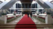 Cantiknya Lobi Gedung Nusantara Saat Sidang Tahunan MPR-DPR