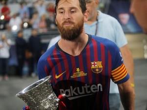 Iniesta, Xavi, dan Puyol, Guru untuk Kapten Messi