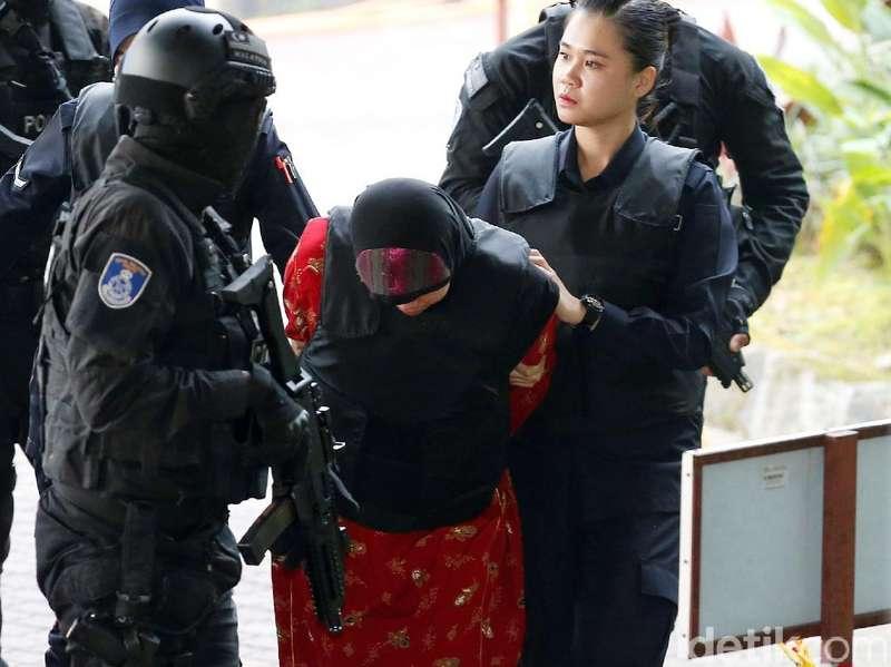 Siti Aisyah Kaget dan Menangis Mendengar Putusan Hakim Malaysia