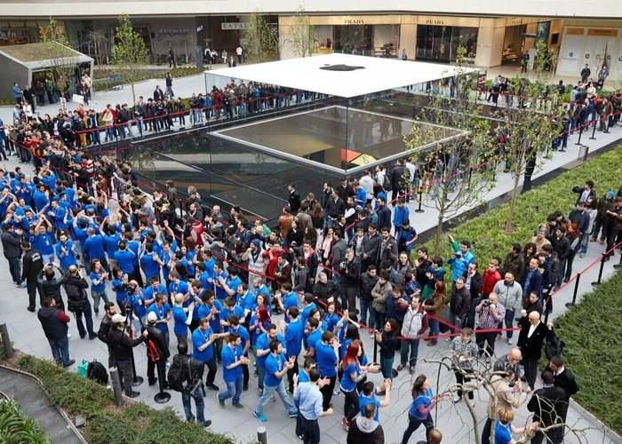 Apple Store di Turki. Foto: istimewa