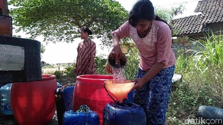 20 Desa di Rembang Kekeringan, 16 Ribu Warga Terdampak