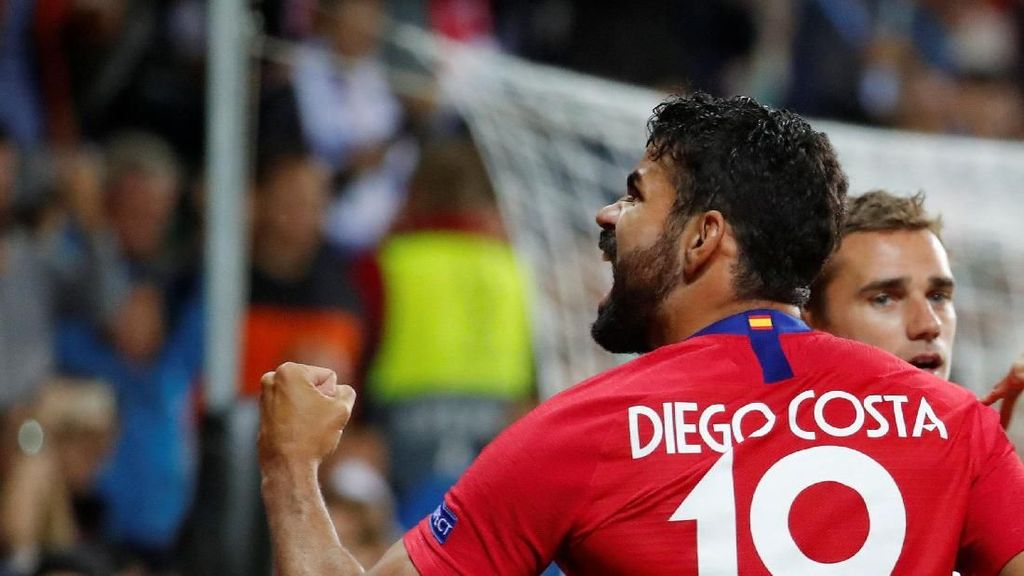 Video: Diego Costa Menggila, Atletico Juara