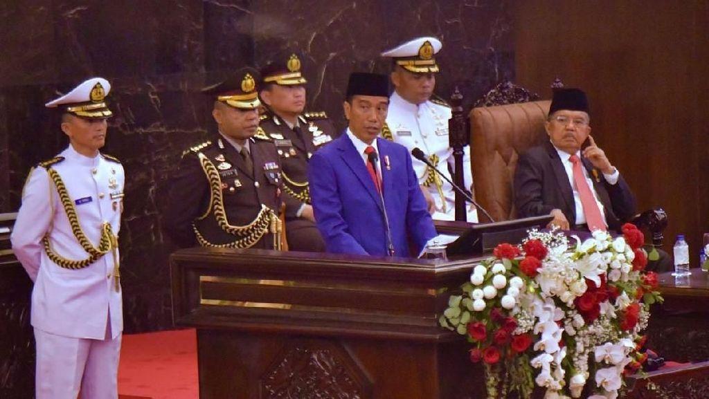 HUT ke-73 RI, Jokowi Ingatkan Semangat Persatuan