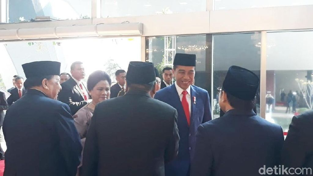 Jokowi-JK Tiba di Sidang Tahunan MPR/DPR