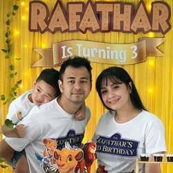 Foto-foto Keseruan Ulang Tahun ke-3 Rafathar