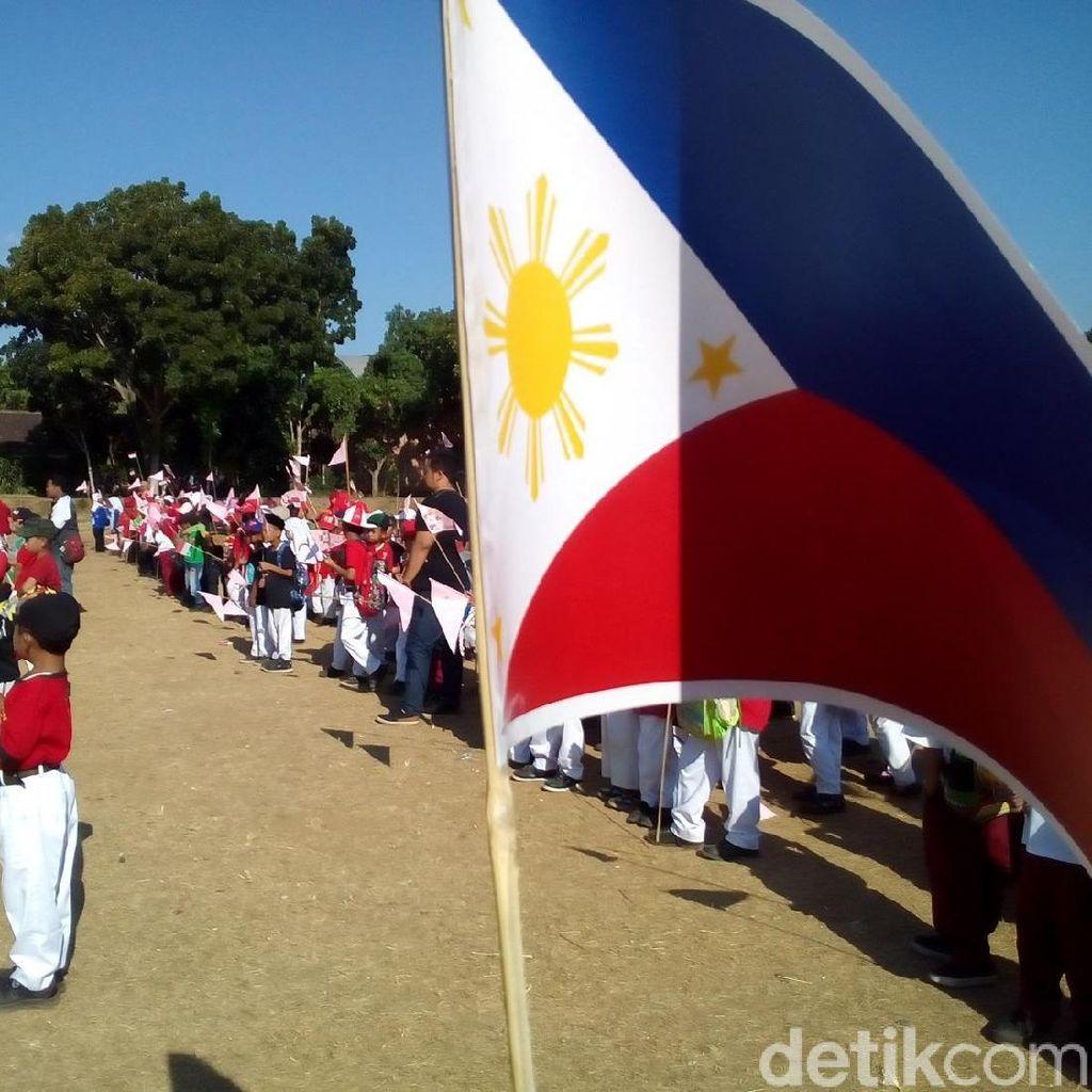Ratusan Siswa di Kudus Pawai Agustusan Bernuansa Asian Games