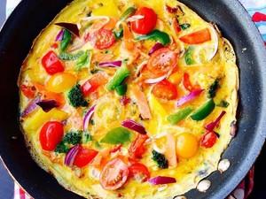 Ini 9 Kreasi Omelet dengan Paduan Sayuran Untuk Sarapan Sehat