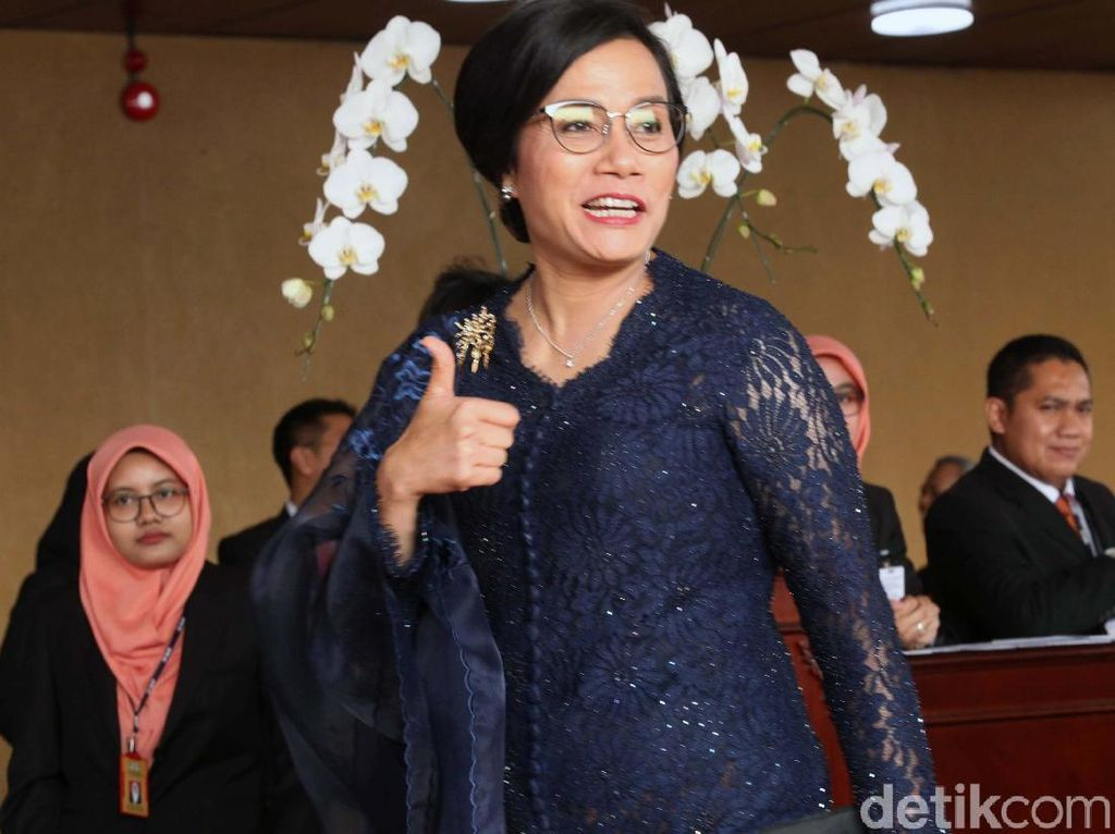 Sri Mulyani Batal Masuk Tim Sukses Jokowi-Maruf Amin