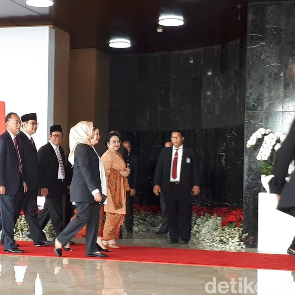 Megawati dan Habibie Hadiri Sidang Tahunan MPR/DPR