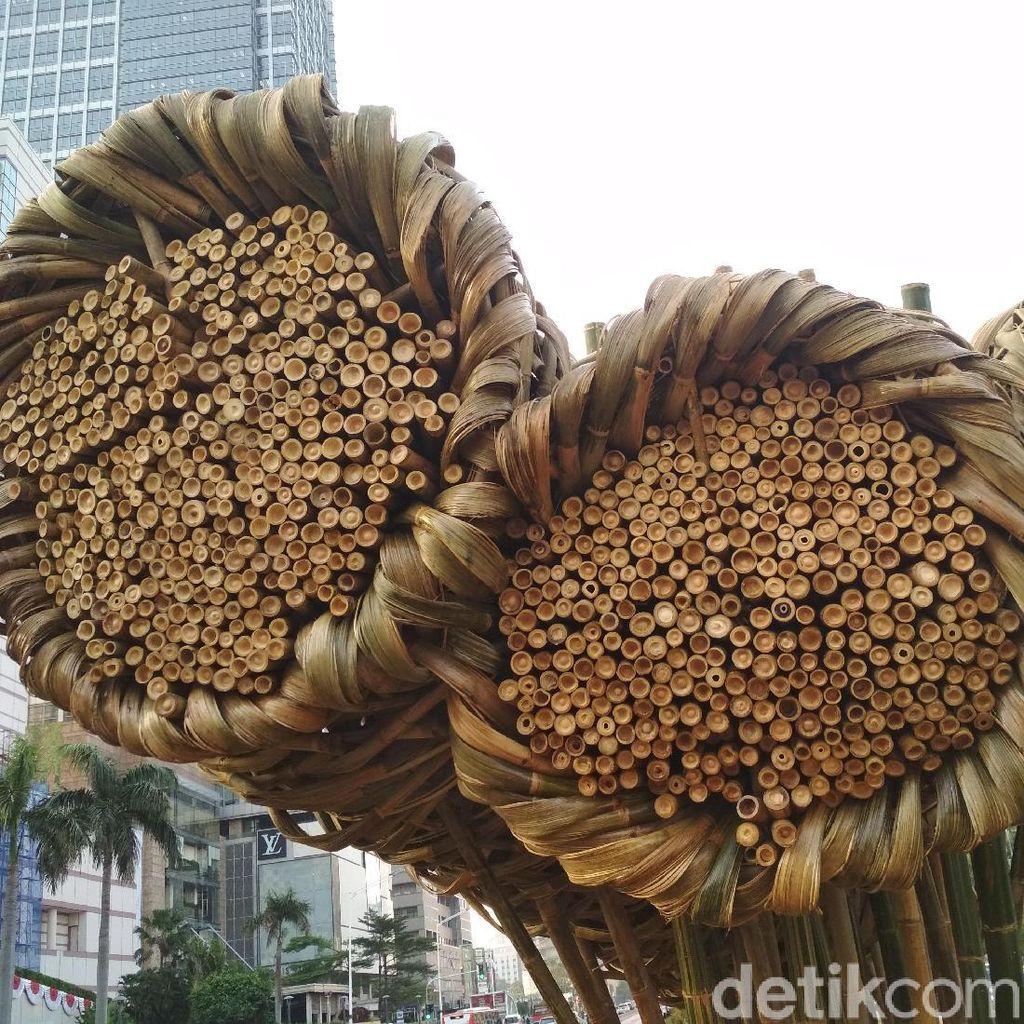 Seni Bambu Proyek Anies Diresmikan, Joko Avianto: Ini Tantangan Besar