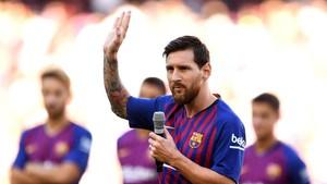 Debut Messi di Camp Nou sebagai Kapten Utama Barcelona