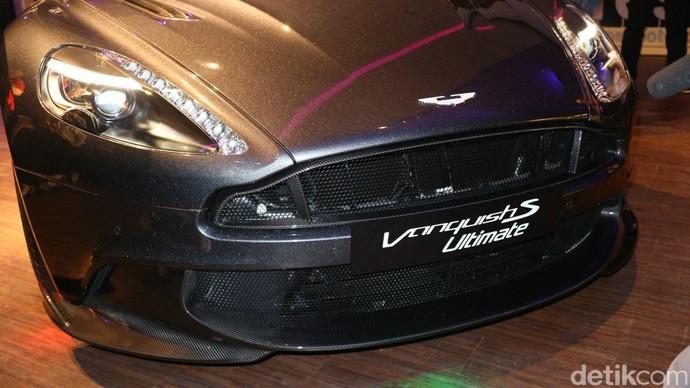 Aston Martin Vanquish S Ultimate tampil menawan. Foto: Dina Rayanti