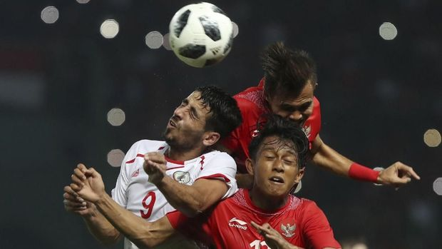 Timnas Indonesia U-23 kalah dari Palestina 1-2 dan membuat peluang lolos menjadi tipis. (