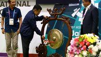 JK Resmikan Media Center Asian Games 2018