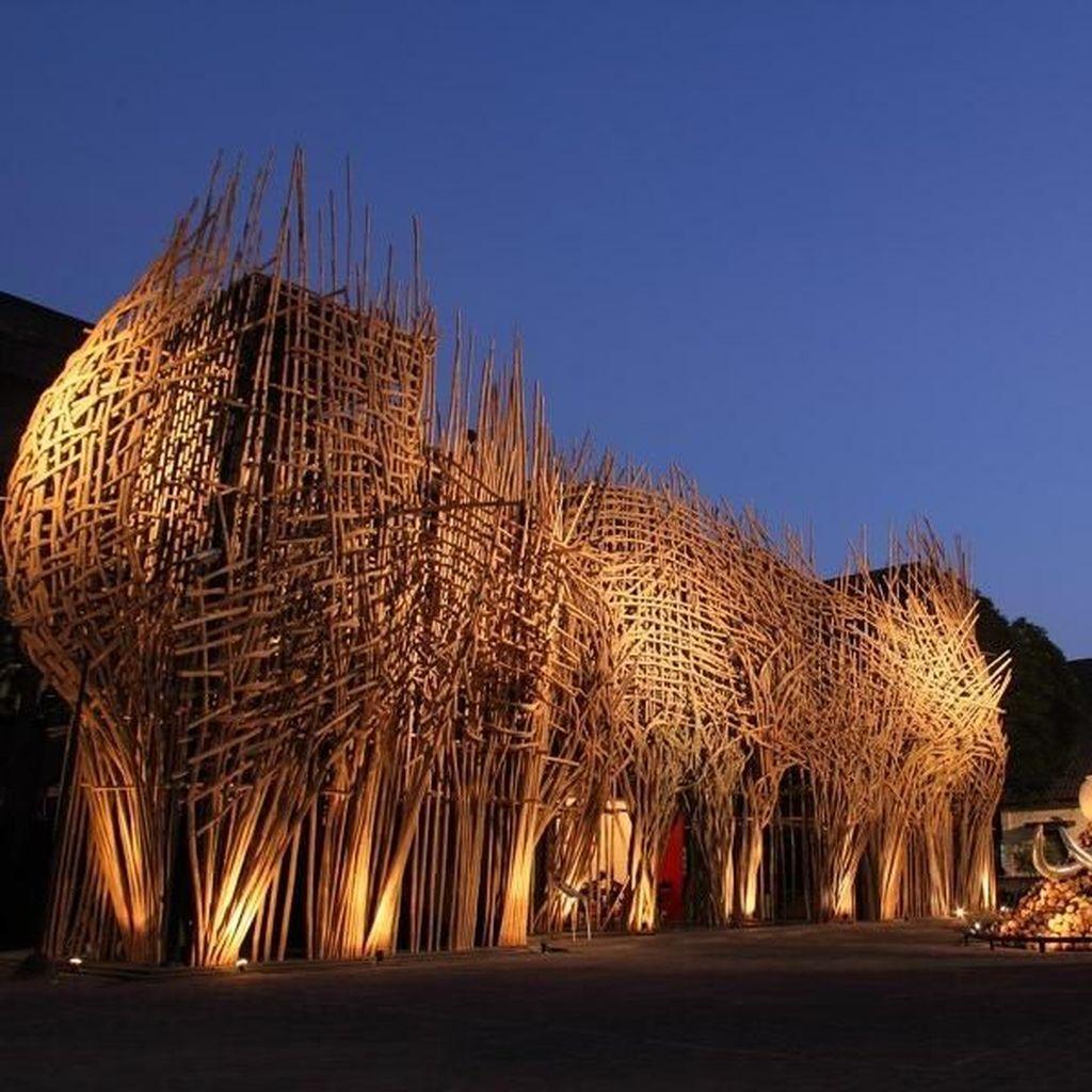 Jangan Pandang Sebelah Mata, Seni Bambu Joko Avianto Pukau Warga Dunia