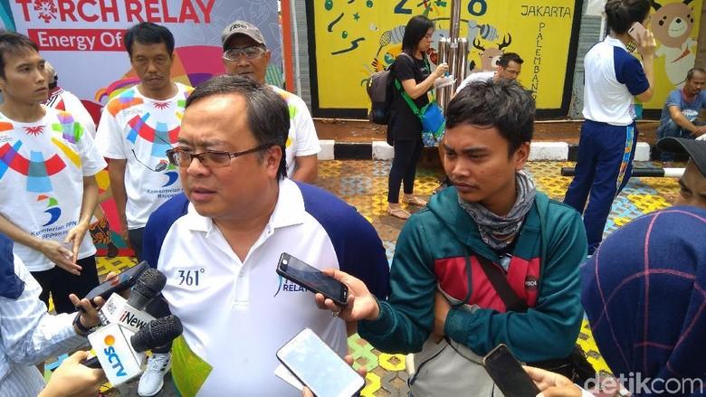 Kepala Bappenas akan Ikut Bawa Obor Asian Games di Jakarta Barat