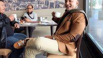 Ini De Gadjah, Politisi Gerindra yang Hobi Makan Pisang dan Ikan Bakar