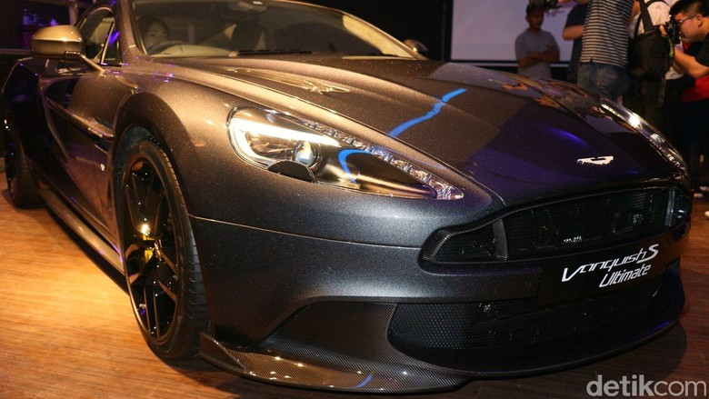 Aston Martin Vanquish S Ultimate. Foto: Dina Rayanti