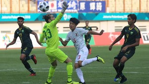 Hasil Sepakbola Asian Games 2018: Jepang Menang Telak, Thailand Imbang Lagi