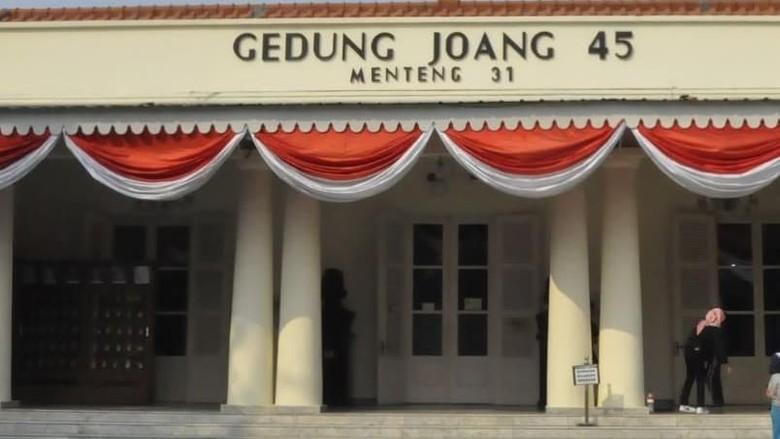Gedung Joang 45 (@museumkesejarahan/Instagram)