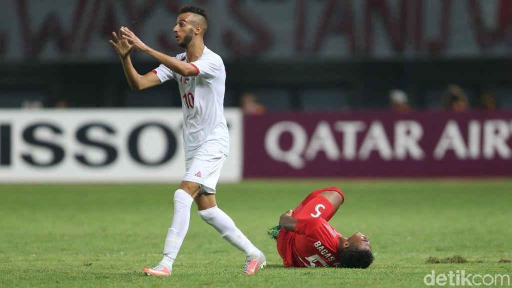 Masih Cedera, Bagas Adi Mungkin Diganti Pemain Lain di Timnas U-23