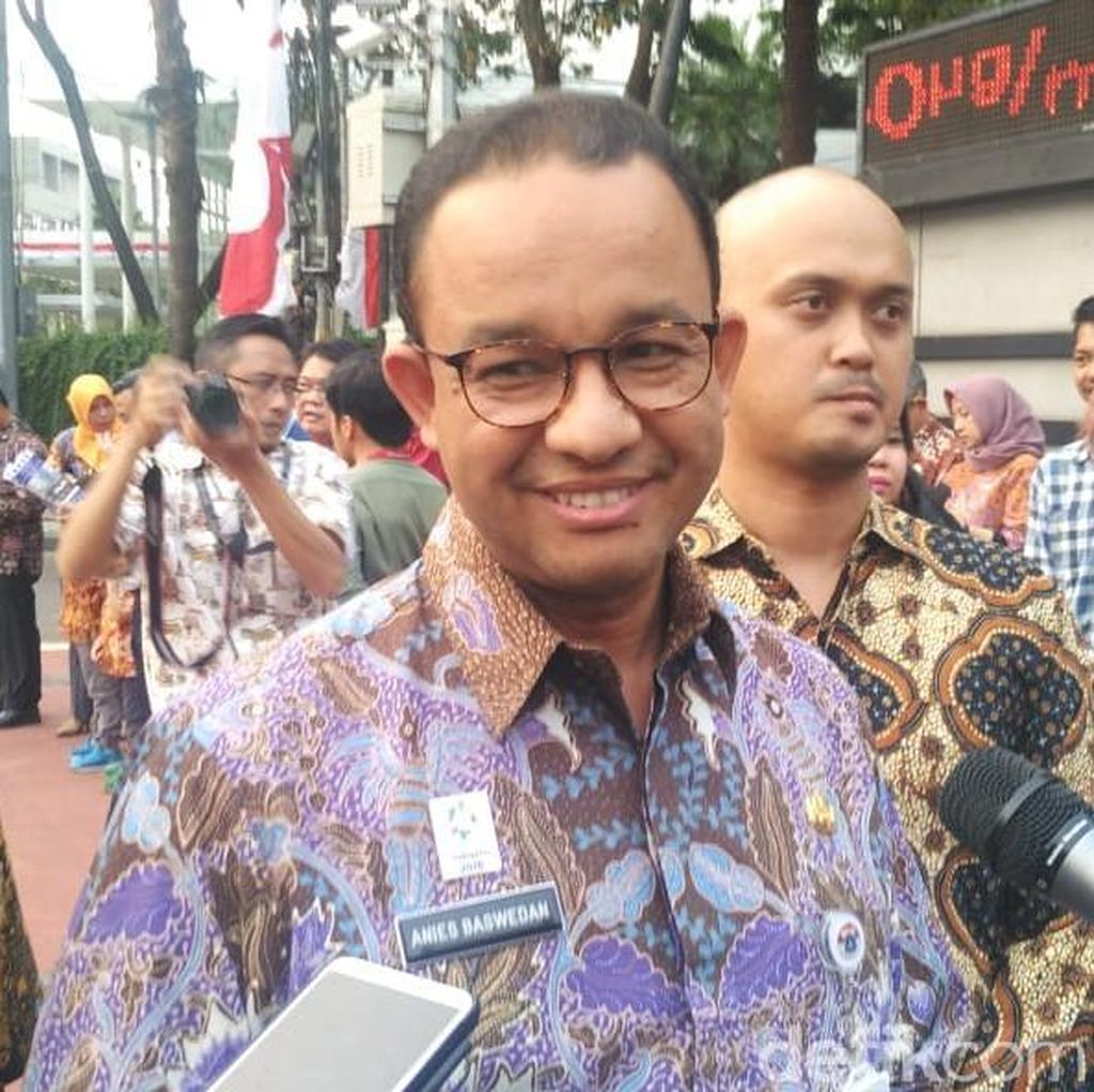 DWP Pindah ke Bali, Anies: Tanya Penyelenggara