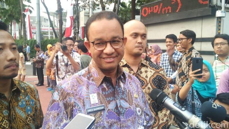 Anies Anggarkan Rp 500 Juta Revitalisasi Taman Ismail Marzuki