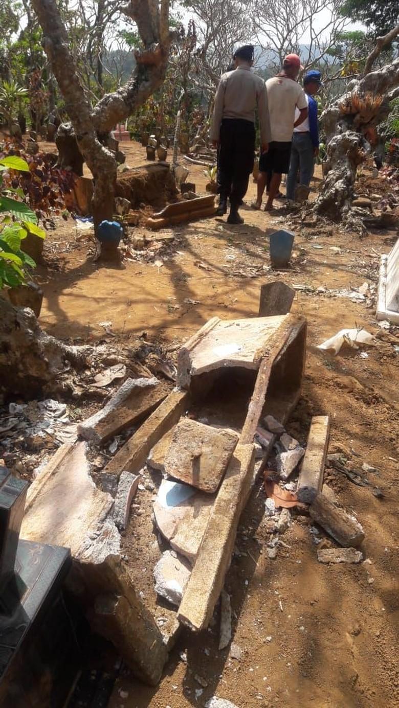 Ini Rencana Desa Jika Pelaku Pengrusakan Makam di Malang Terungkap