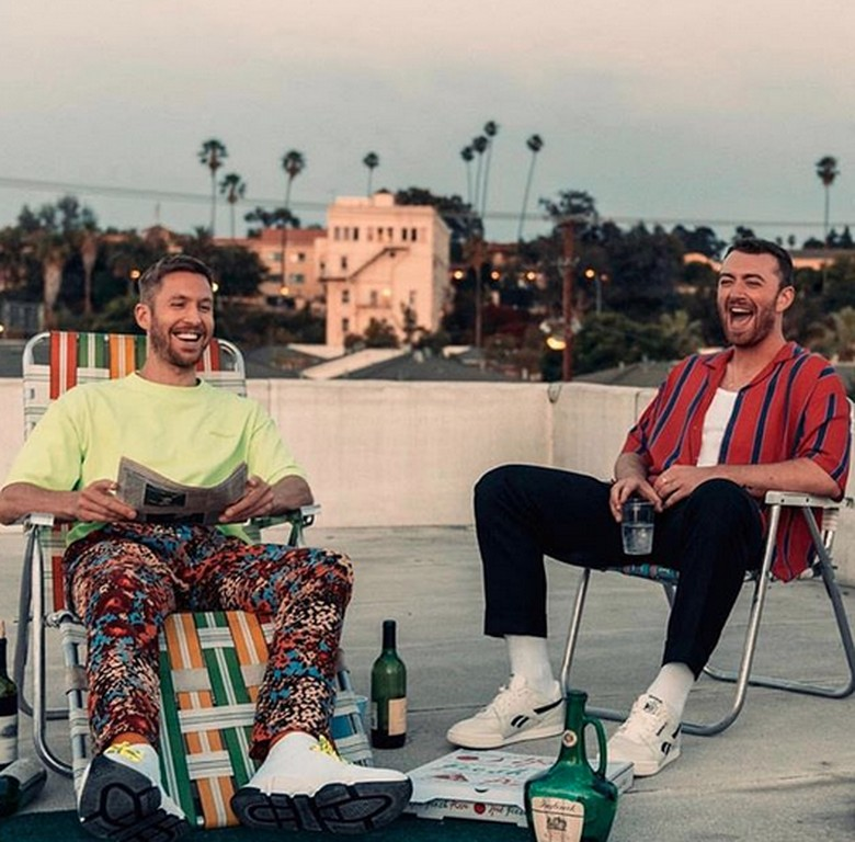 Sam Smith dan Calvin Harris Foto: Instagram Sam Smith