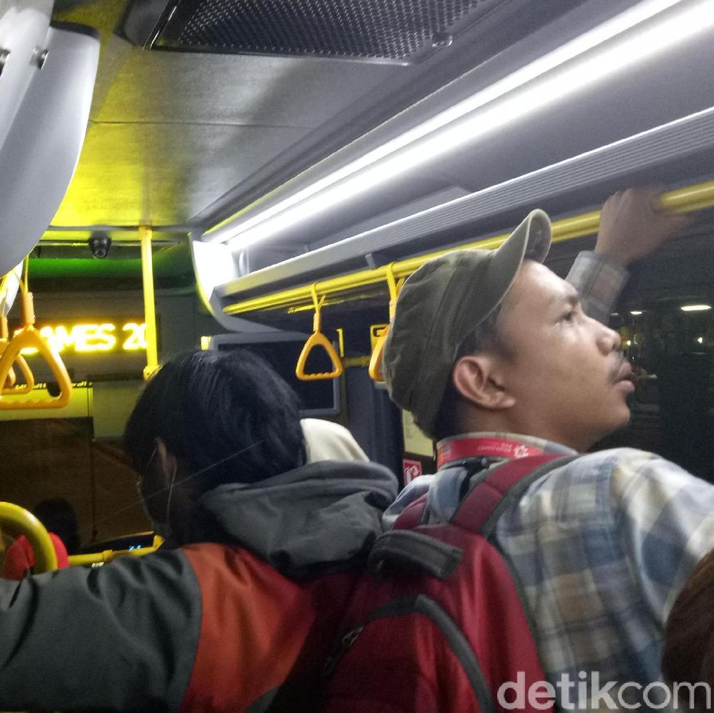 500 Bus Siap Antar Warga ke Venue Asian Games Gratis!