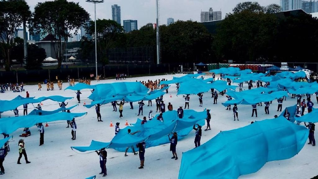 Opening Ceremony Asian Games: Pentas Kolosal di Atas Panggung Raksasa