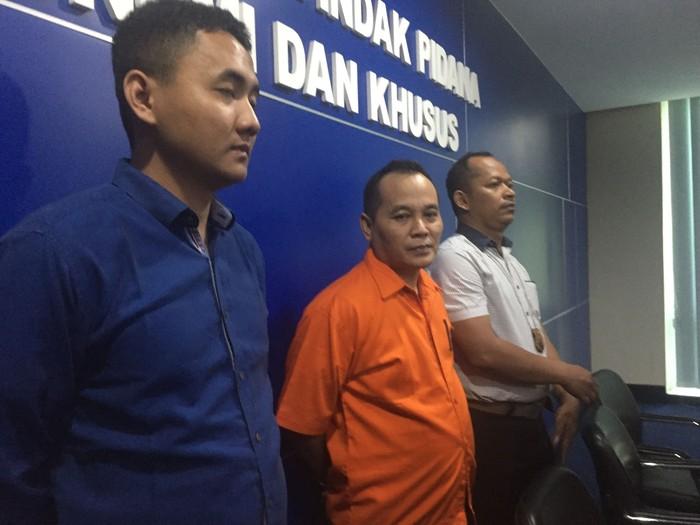 Foto: Bos Sekte Penghapus Utang ditetapkan sebagai tersangka. Fotografer: Ibnu Hariyanto/detikcom