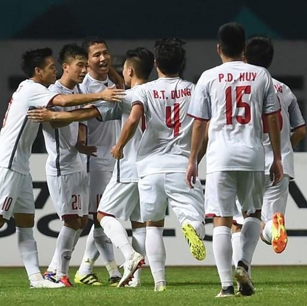 Hasil Sepakbola Asian Games 2018: China dan Vietnam Masih Sempurna
