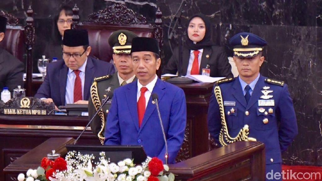 Jokowi Targetkan Ekonomi Tumbuh 5,3% di 2019