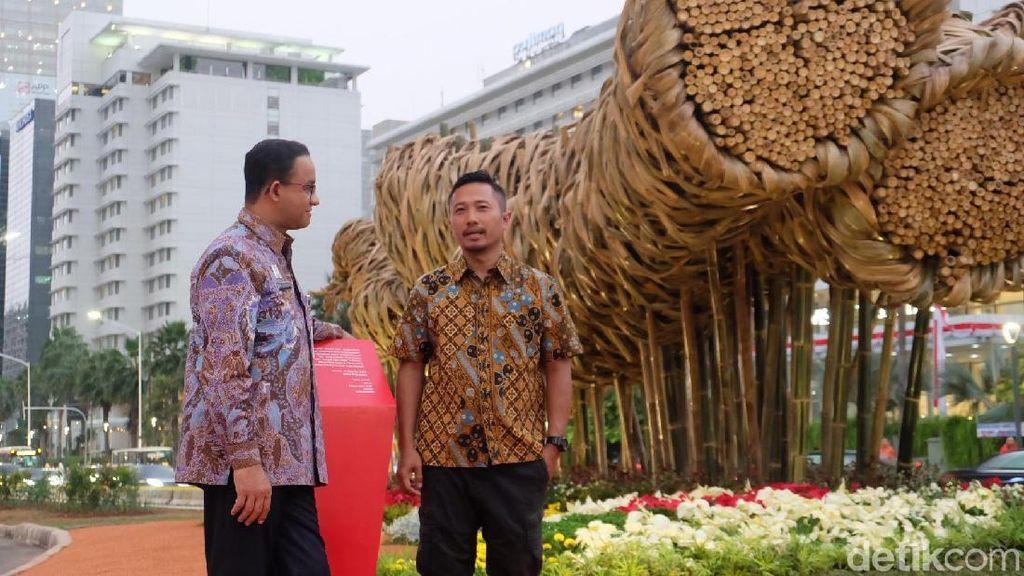 Joko Avianto Tegaskan Seni Bambu Proyek Anies Bukan Patung Monumental