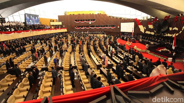 Kata Bamsoet soal Bangku Kosong Sidang Tahunan yang Dihadiri Jokowi