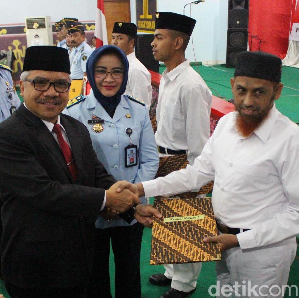 9.275 Napi di Jatim Dapat Remisi HUT RI, Salah Satunya Umar Patek
