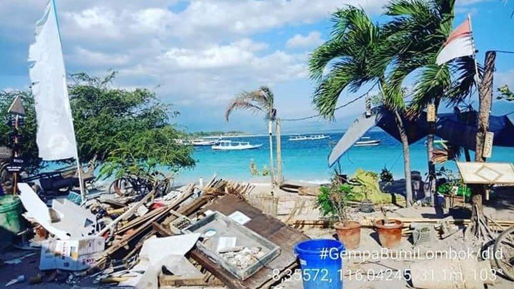 Tak Terdampak Gempa, Kawasan Wisata Kuta Lombok Beroperasi Normal