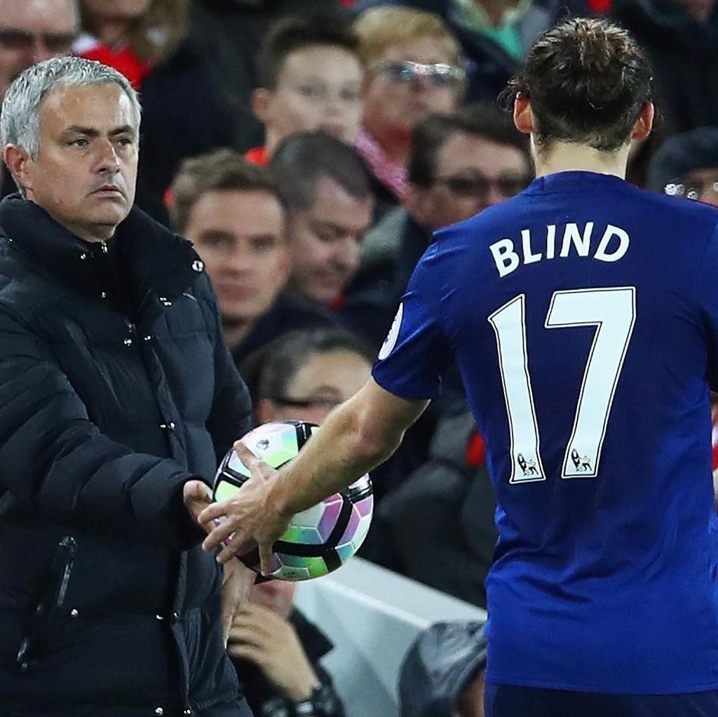 Daley Blind Bersyukur Pernah Dilatih Mourinho