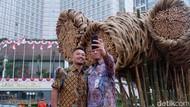 Makna di Balik Seni Bambu Getah Getih Karya Joko Avianto