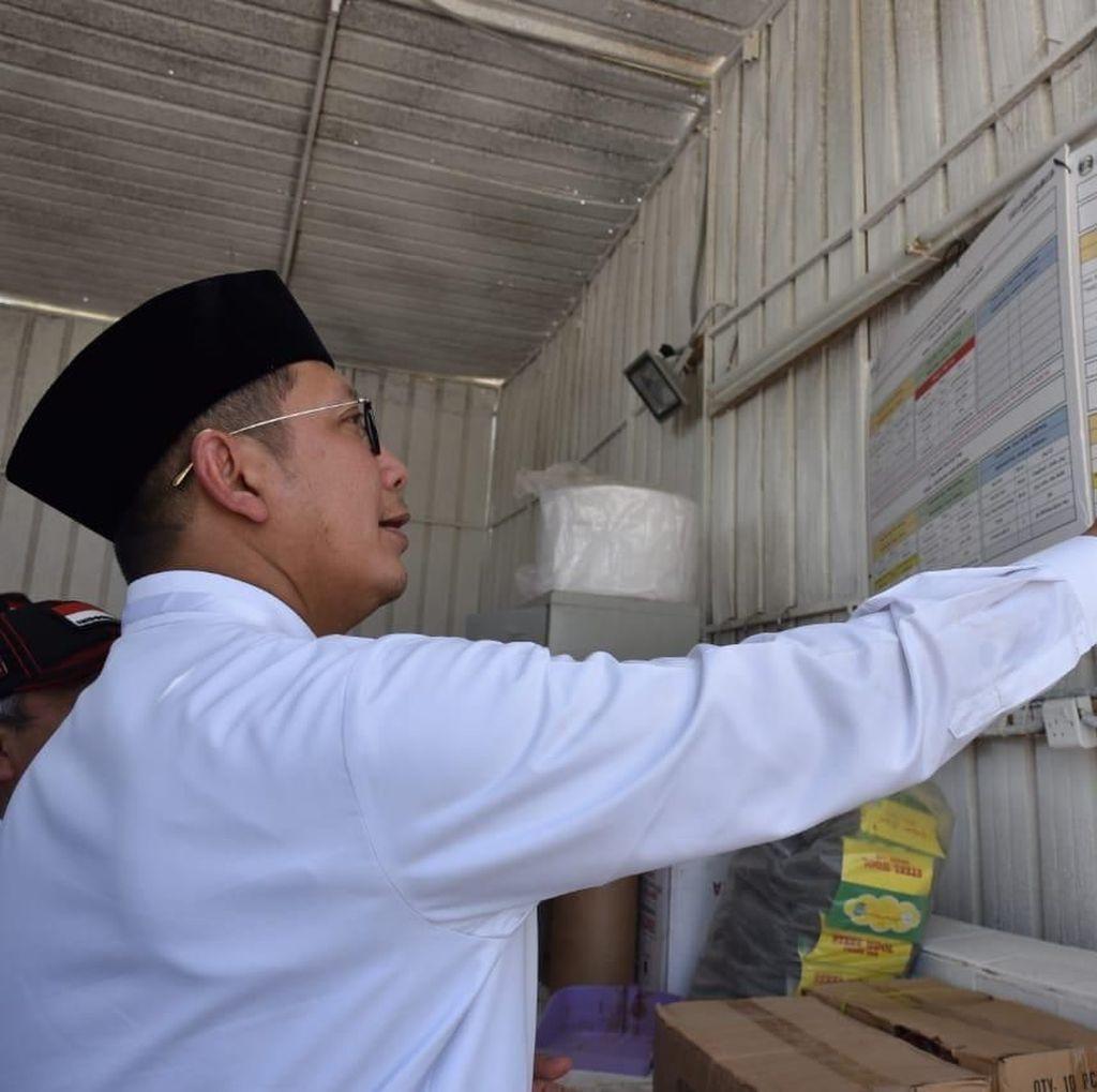 Pasca Angin Kencang di Arafah, Menag Tinjau Tenda Jemaah