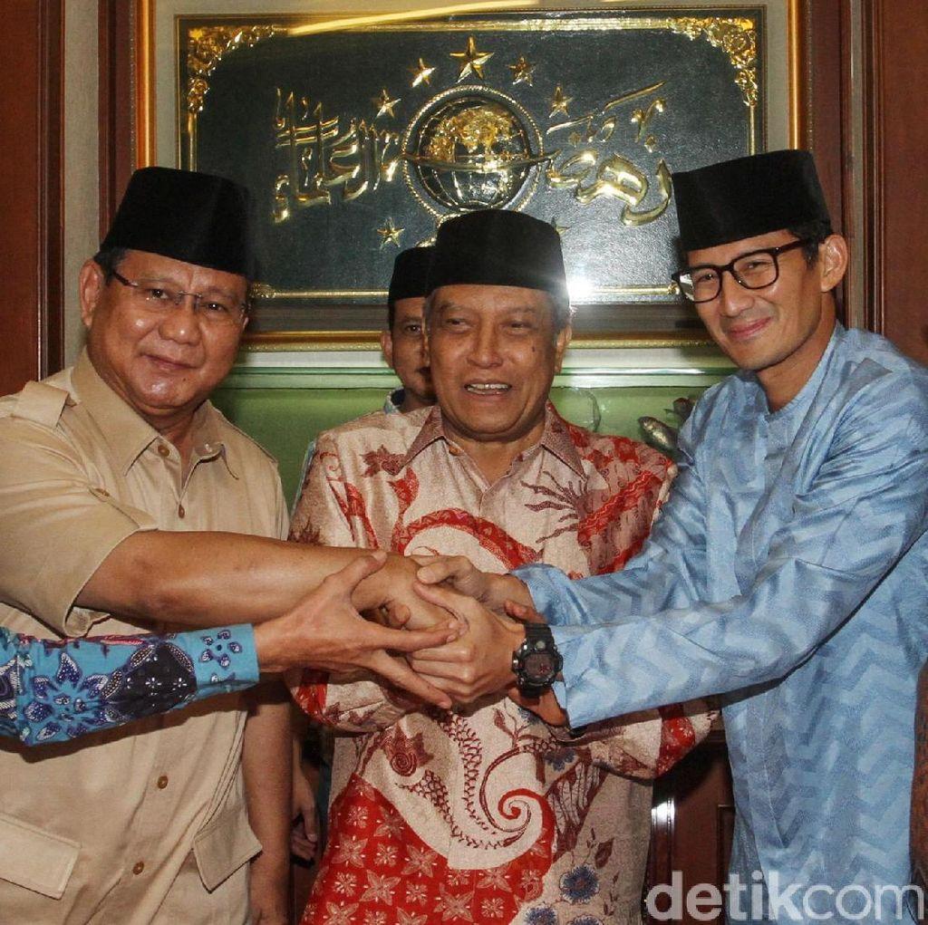 Dapat Kartu Anggota NU, Prabowo: Kehormatan Bagi Saya