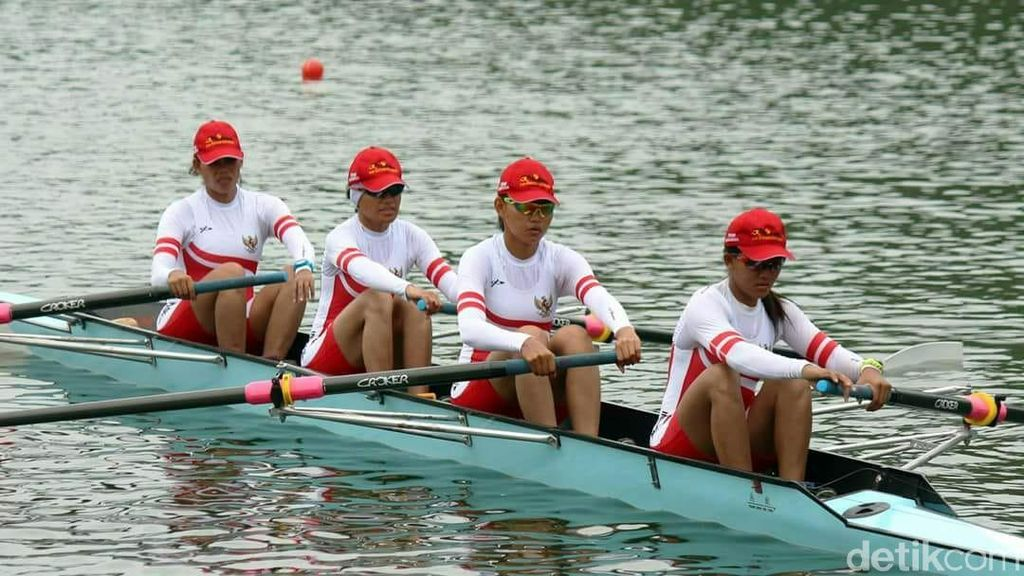 Tantangan Dayung di Asian Games: Angin Terlalu Kencang
