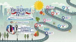 Pawai Digital Lewat Lagi Pukul 18.00 WIB Ya di haibunda.com